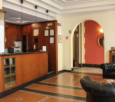 Hotel Giulio Cesare - Reception